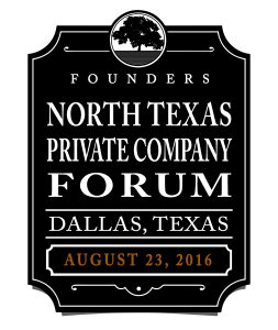 Founders 2016 North Texas Forum