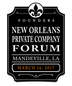 Founders 2017 Greater New Orleans Forum