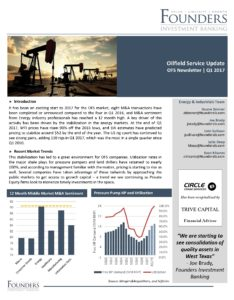 Founders Q1 2017 Oilfield Services Update