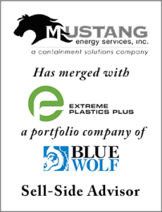 Founders Advises Mustang Energy in its Merger with Extreme Plastics Plus